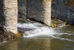 河水坝 免版税库存图片