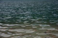 河水纹理  免版税图库摄影