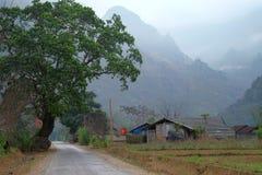 河江市,广宁省,越南 库存图片