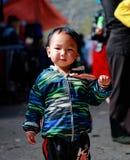 河江市,越南, 2016年1月01日姐妹,种族Hmong,河江市 图库摄影