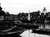 河沿会安市越南 图库摄影