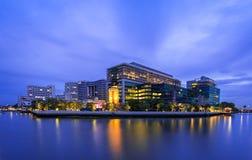 河沿大厦 免版税库存图片