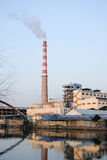 河沿工厂 图库摄影