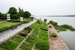 河沿视域 免版税库存照片