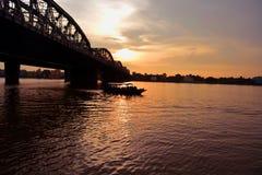 河沿 库存照片