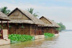 河泰国越南 库存图片