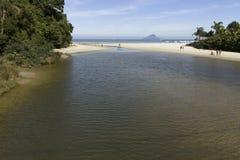 河海滩和海岛 库存图片