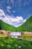 河瀑布 免版税库存图片