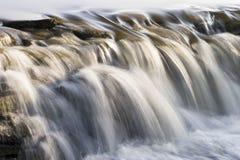 河瀑布 库存图片