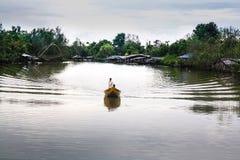河生活  免版税库存图片