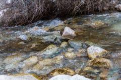 河的净流程 免版税图库摄影