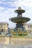 河的喷泉 免版税库存图片