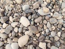从河的小卵石 免版税库存照片