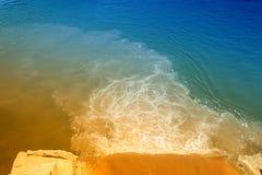 河的污染 库存图片
