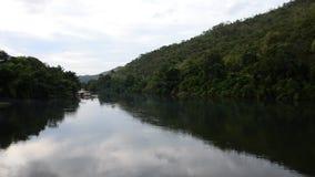 河的浮动房子 股票视频