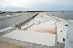 河的阶段 免版税图库摄影
