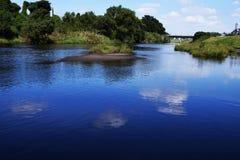 河的风景 图库摄影