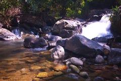 河看法vangvieng的4 免版税库存照片