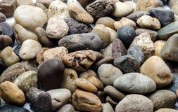 河石背景 免版税库存照片