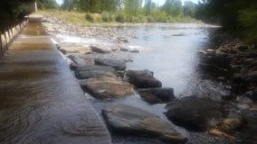 河结构 免版税库存照片
