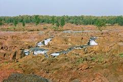 河肯在印度 库存图片