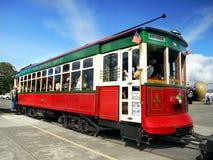 河边区台车Astoria俄勒冈美国 库存照片