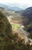 河道纵横的峡谷 库存图片