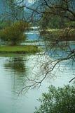 河风景 免版税库存照片