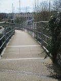河,布里斯托尔的江边 库存图片