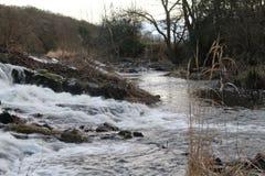 河|乡下 库存照片