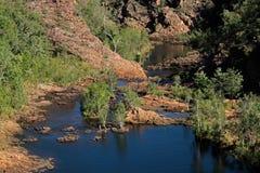 河-卡卡杜国家公园 库存图片