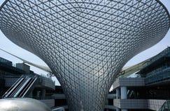 河购物中心在上海中国 免版税库存照片