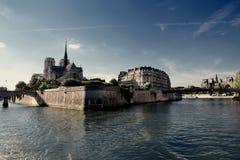 巴黎河 免版税库存照片