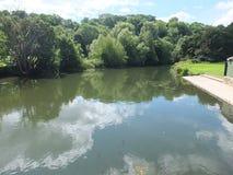 河Avon反射 库存照片