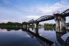 河Kwai桥梁 库存照片