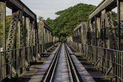 河Kwai桥梁 免版税库存照片