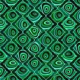 绿沸铜装饰物样式 免版税库存图片