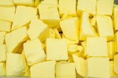 黄油乳酪切片 免版税库存图片