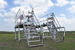 油井的设备 库存照片