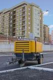 柴油便携式的压缩机 免版税图库摄影
