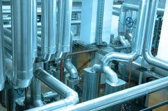 油和煤气传递途径 免版税库存照片