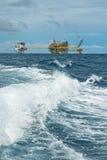 油和煤气调用平台 库存照片