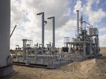 油和煤气建筑,埃及,三角洲 免版税库存图片