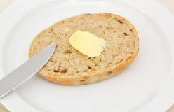 黄油和面包 库存图片
