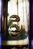 油在水中 免版税库存照片