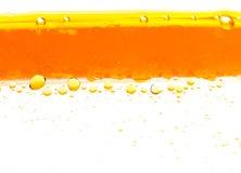 油在水中 库存图片
