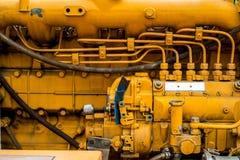 柴油引擎 免版税库存图片
