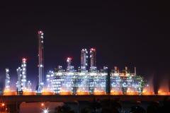 油料植物精炼厂 免版税库存照片