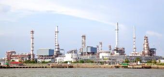 油料植物精炼厂 图库摄影