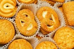 黄油曲奇饼 免版税库存图片
